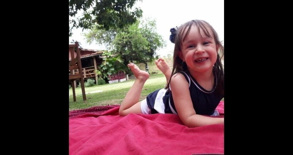 Essa é a Lívia, filha da Kellen Lima, de Sorocaba (SP)