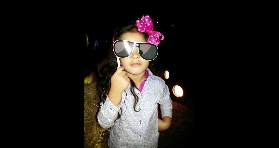 Samir, de Palmas (TO), enviou a foto do seu presente de Deus, Laura