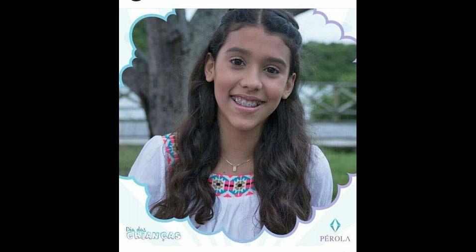 Clesia, de Aracaju (SE), enviou foto da filha Ana Beatriz