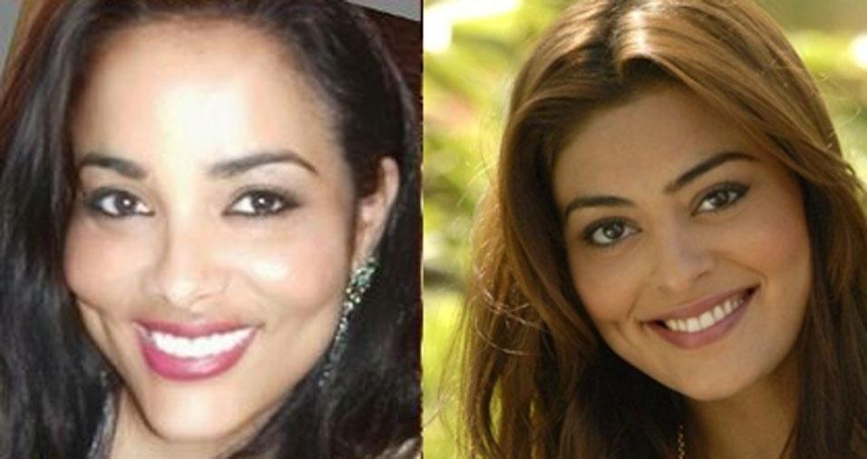 """Carla de Oliveira Rosa, de Taubaté (SP), conta: """"Dizem que me pareço com a Juliana Paes"""""""