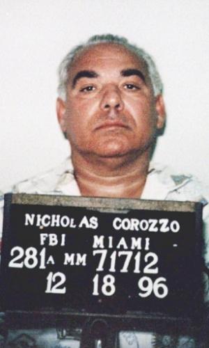 """Nicholas """"Nick"""" Corozzo era o líder da família Gambino nas décadas de 80 e 90, em Nova York, até ser preso em 1996, indiciado em mais de 20 processos criminais"""