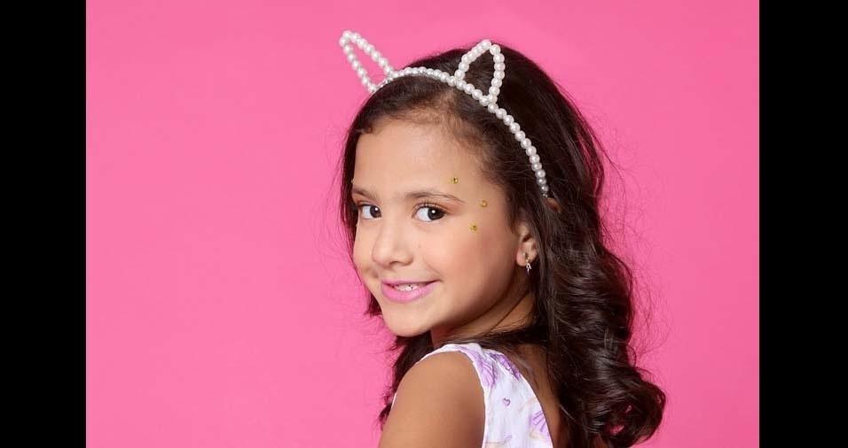 Vinícius enviou foto da filha Anna Clara, de Guarulhos (SP)