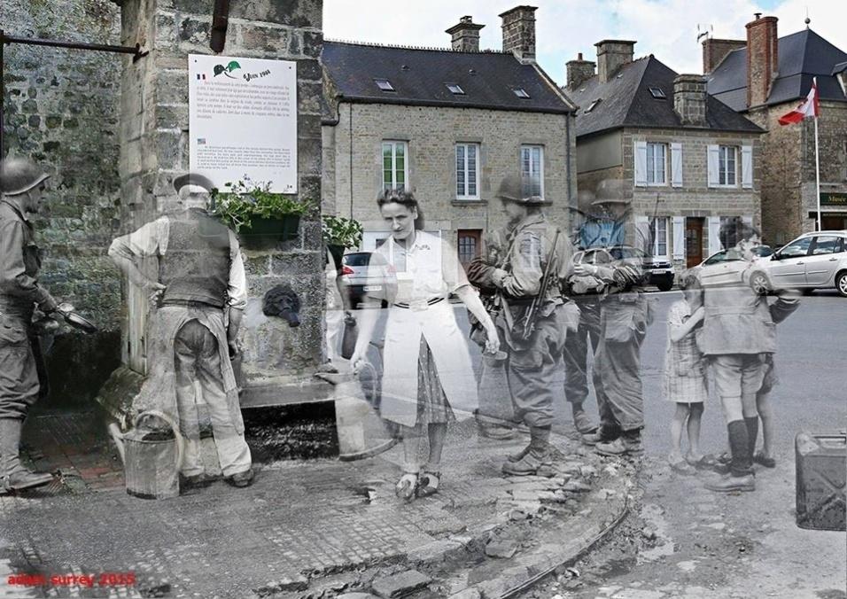 24.nov.2015 - Nas imagens, é possível comparar uma mesma paisagem cerca de 70 anos depois