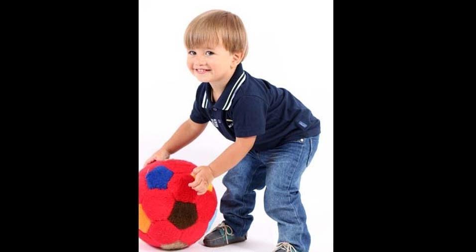 Kauana enviou foto do filho Pietro, de Conselheiro Lafaiate (MG)