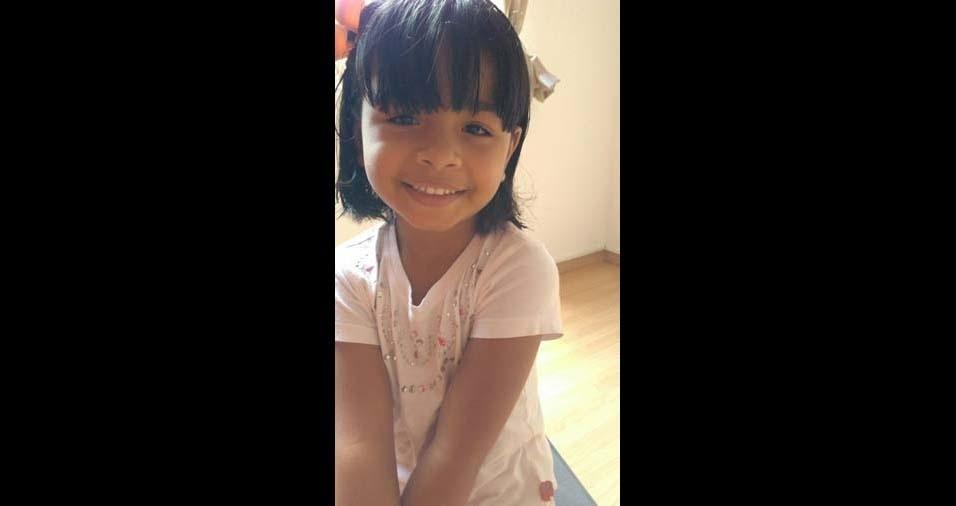 Robson, de São Bernardo do Campo (SP), enviou foto da filha Beatriz, de cinco anos