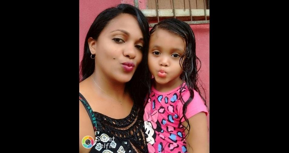 Anny Sophia é a filha da Geise Oliveira, de Caxias (MA)