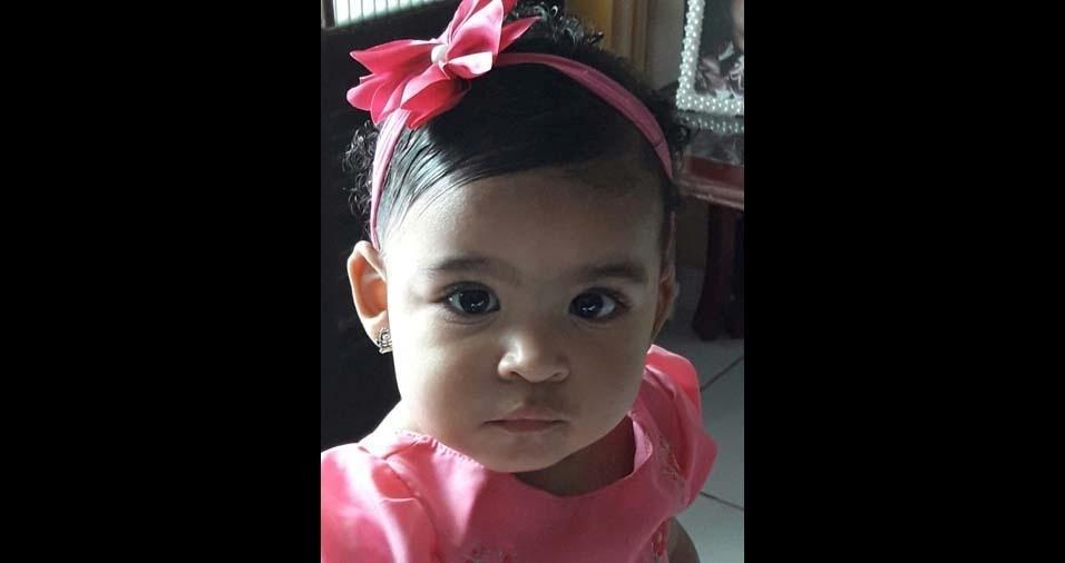 Eduardo, de Bonito (PE), enviou foto da filha Maria Eduarda