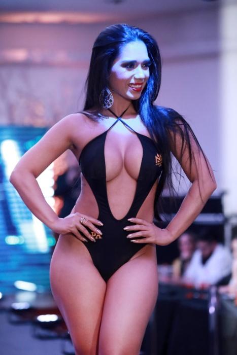 5.nov.2017 - Taylla Duarte, a bela que defendeu o Pará