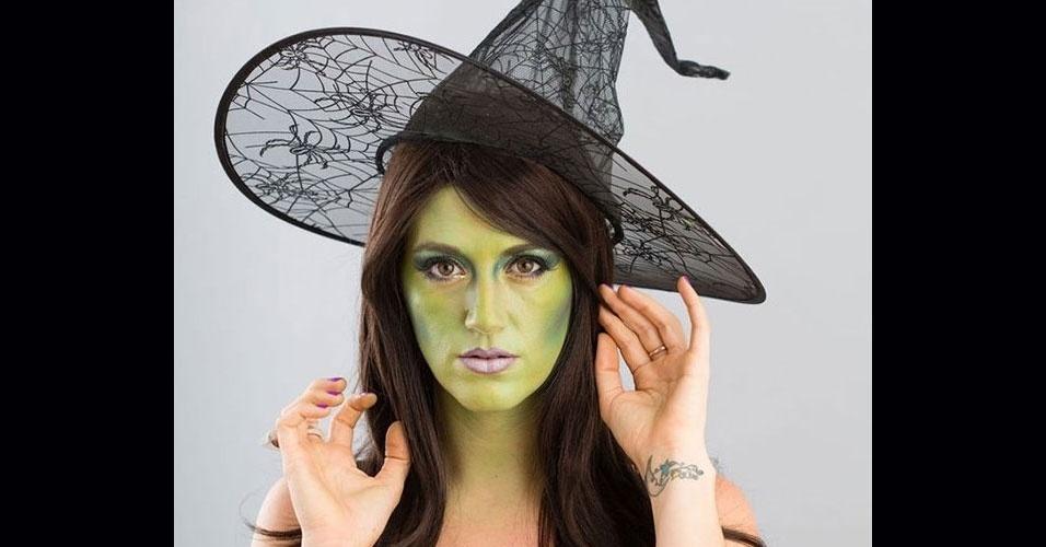 d82e9d5f2 50 maquiagens de Halloween nem tanto assustadoras para você fazer em casa