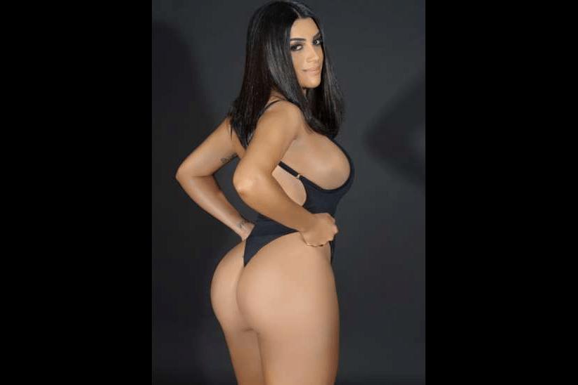 12.mai.2017 - Suelen Vaz, representante do Rio de Janeiro. Organizador do Miss Bumbum, Cacau Oliver revelou que pretende tornar o concurso ao mesmo tempo mais pop e sexy