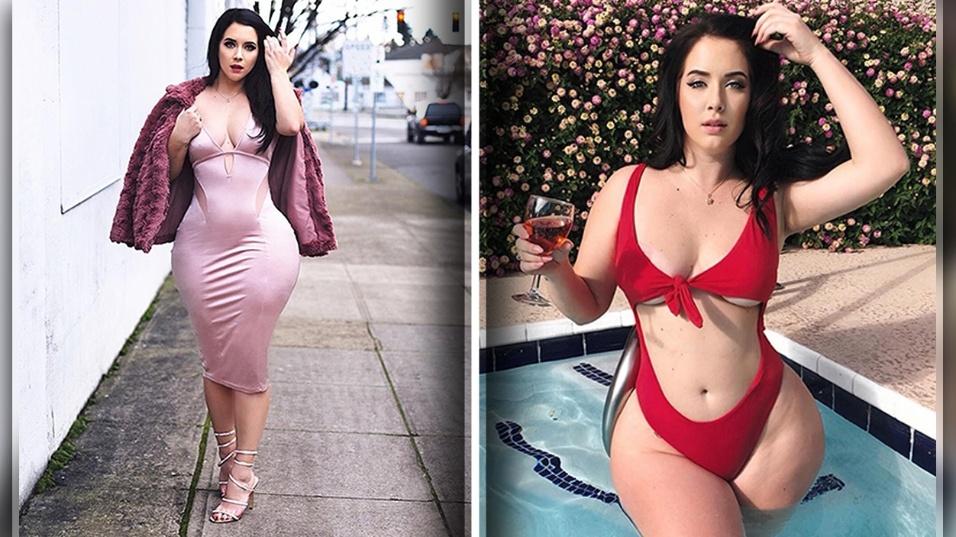 5.abr.2018 - A modelo e estilista americana Holly Luyah, de 26 anos, se destaca por mesclar sensualidade e estilo em suas coleções de roupas. No Instagram, a beldade que reside em Los Angeles posta fotos de ensaios com suas peças, inclusive as linhas de lingerie
