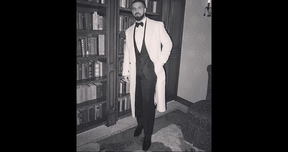 9. Drake. O cantor coleciona conquistas no campo amoroso e dá para entender a razão