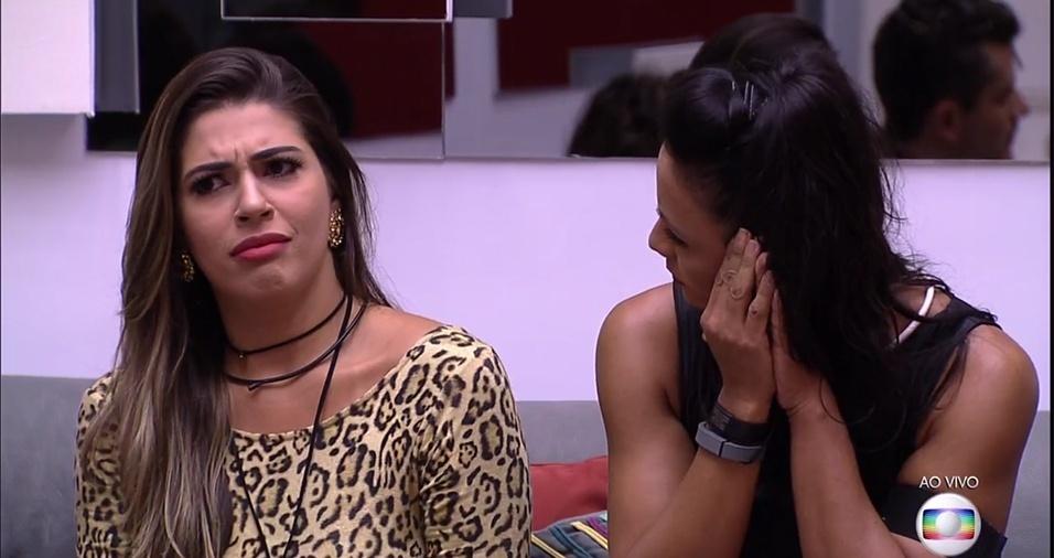 Vivian parece confusa com justificativa de Ilmar para indicar Rõmulo