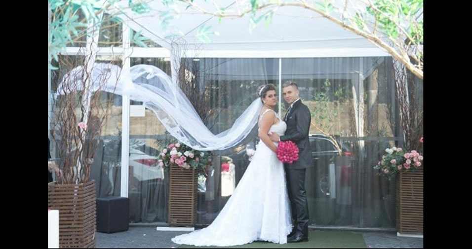 Leonardo Dutra da Silva e Jaqueline Barros se casaram em 20 de setembro de 2015, em São Paulo (SP)