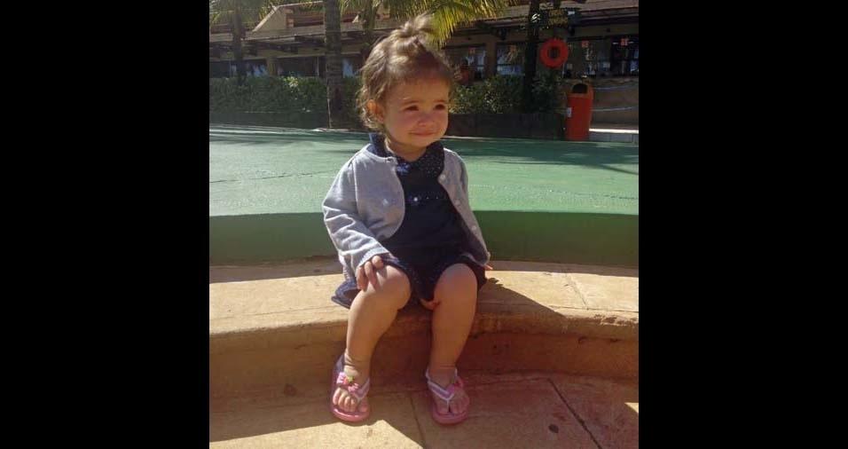 Ronaldo, de São Paulo (SP), enviou foto da filha Lorena, de um ano e cinco meses