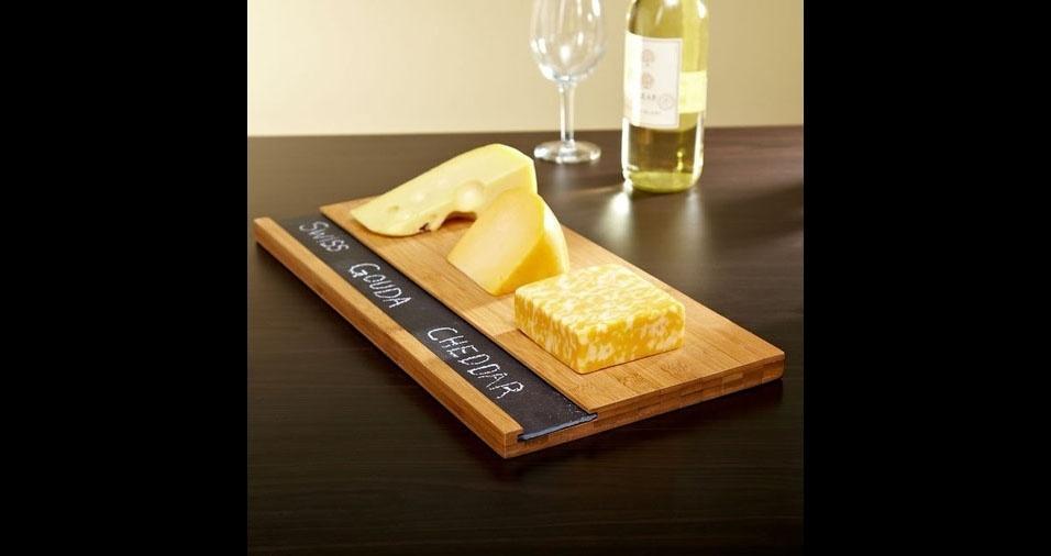 24. Com informação de qual é o tipo de queijo