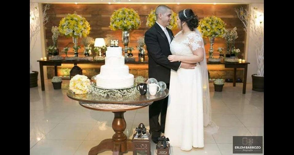 Rodrigo e Maria Isabel se casaram no dia 4 de junho de 2016, na vila da Penha, no Rio de Janeiro (RJ)