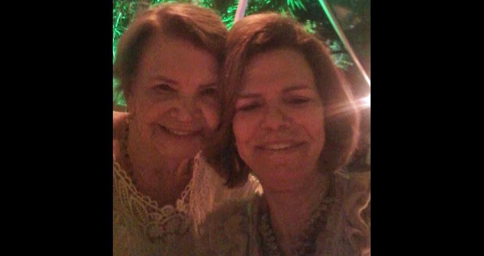 Gloria Queiroz Monteiro e Mercia Queiroz Goldschmiedt, do Rio de Janeiro (RJ)