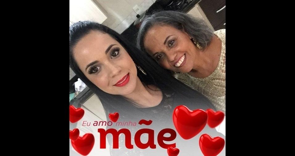 Rafaela Machado é a filha da Dora Machado, de Barra Mansa (RJ)