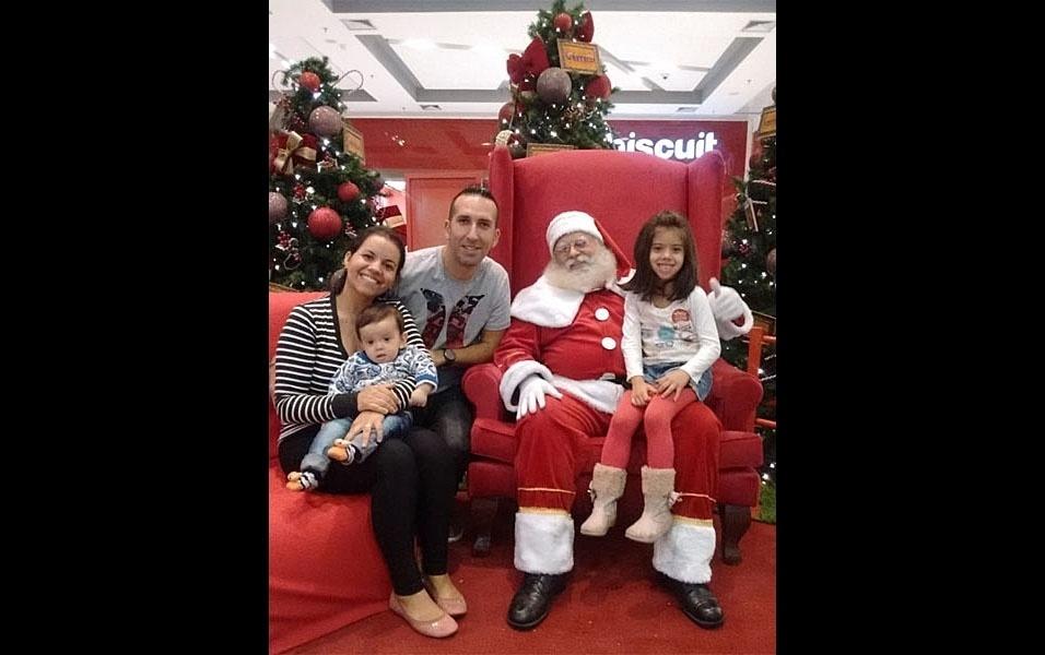 Alessandro da Silva Rodrigues reuniu a família para o especial de Natal do BOL, em Sorocaba (SP)