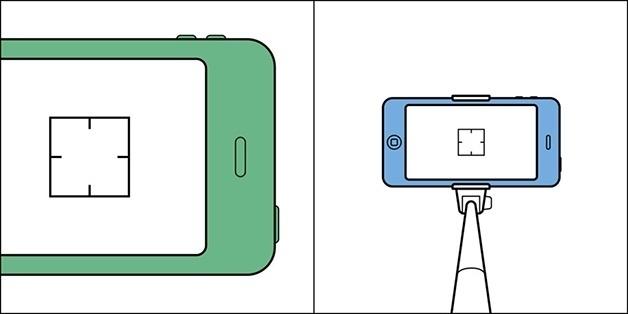 3.nov.2015 - E na hora de fazer aquela selfie: usar próprio celular ou o moderno pau-de-selfie?