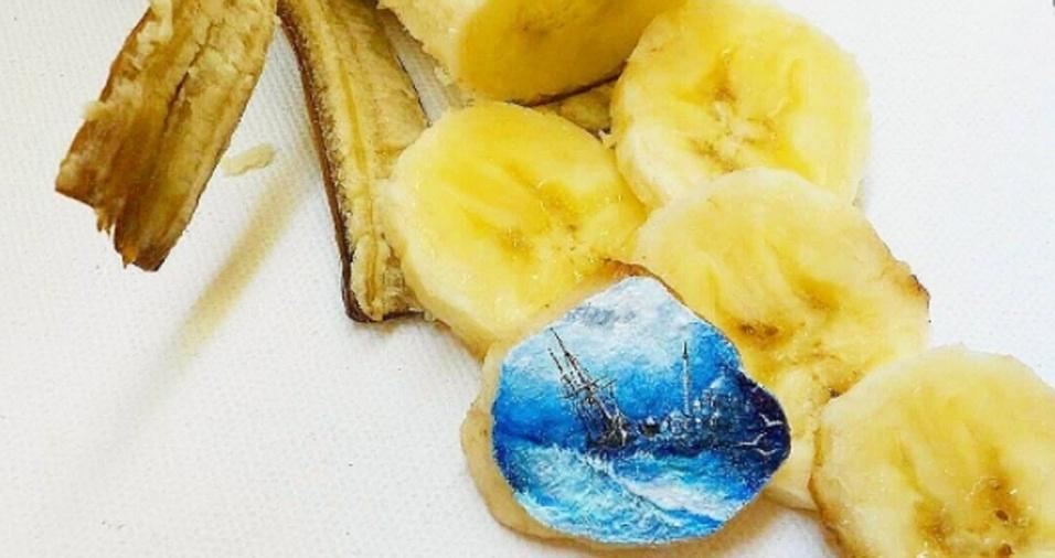 11. Um pedacinho de banana que nunca mais será visto da mesma forma