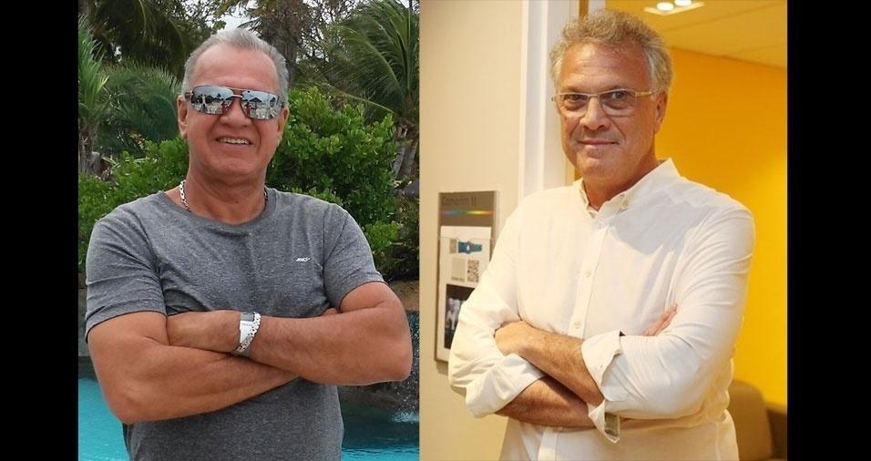 Castro, de Natal (RN), se acha parecido com o Pedro Bial