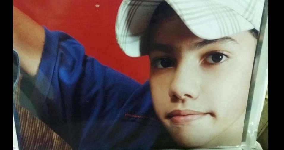 Angélica enviou foto do filho Ewerton, de Ourinhos (SP),