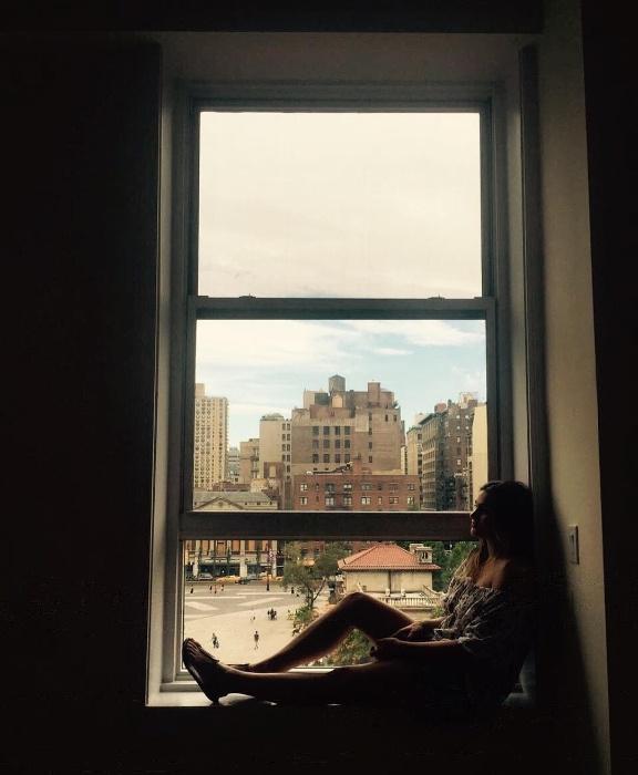 21.ago.2016 - Sasha compartilha foto em Nova York. Após completar 18 anos, a filha de Xuxa se mudou para os Estados Unidos para estudar moda