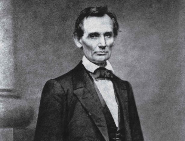O ex-presidente americano Abraham Lincoln
