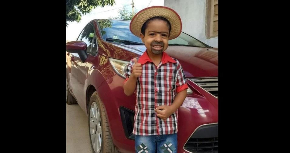 Edenilza G. M. Pinheiro enviou foto do filho Paulo Eduardo Pinheiro, de Luís Eduardo Magalhães (BA)
