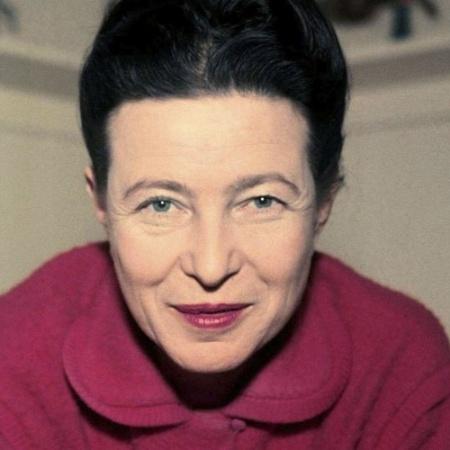 A filósofa francesa Simone De Beauvoir dará nome a rua no Rio - Reprodução/Écrits de Femmes