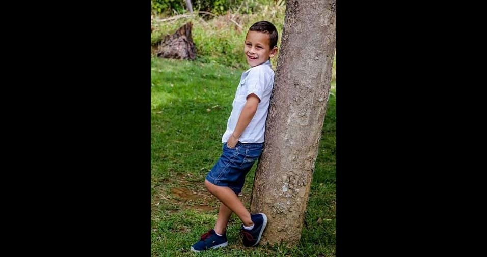 Gilmara, de Passa Quatro (MG), enviou foto do filho Cassiano