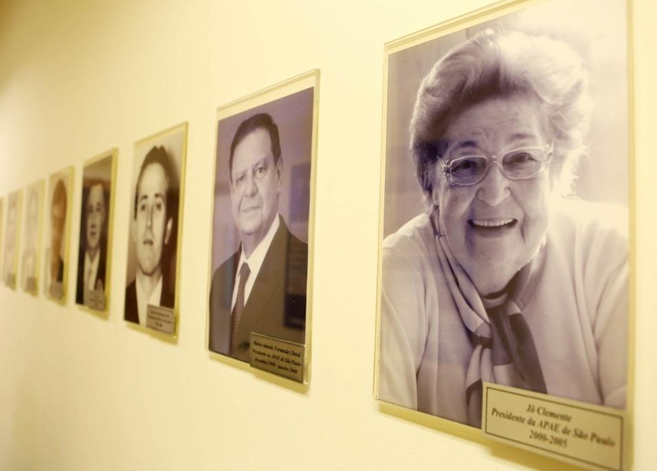 Apae-SP. Jô Clemente, hoje com 90 anos, acompanha à distância o trabalho na Apae-SP. Ela é, atualmente, uma das conselheiras vitalícias e presidente de honra da instituição