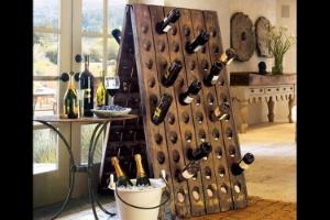 35 Suportes Para Garrafas De Vinho Que Você Pode Fazer Em Sua Casa