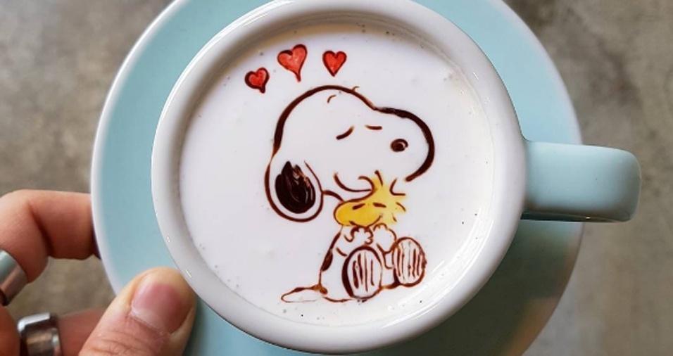 38. Quem não gosta do Snoopy?