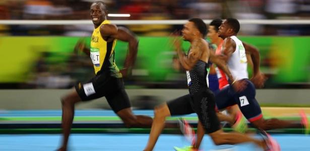 Bolt é tricampeão olímpico dos 100m e 200m