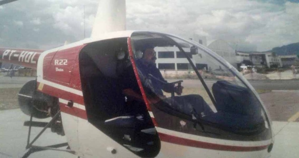 Marcelo Tadeu de Moraes, do Rio de Janeiro (RJ), aos 38 anos, fazia o curso para piloto de helicóptero no aeroporto de Jacarépaguá