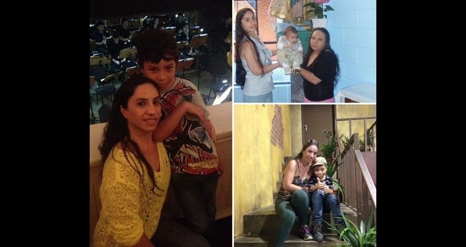 """Ângela Flauzino, de São Paulo (SP), quer homenagear a mãe Laurinete, falecida há quatro anos: """"Mesmo nesses anos de ausência, ainda sinto a tua presença em tudo o que faço, a sua voz me chamando, sabe o que lembro? Quando chove recordo daqueles momentos em que ficávamos juntas debruçadas na janela da sala admirando a força natureza em gotas fortes e outras nem tantos assim, entre outros momentos... E jamais esquecerei o seu ultimo suspiro. Jamais esquecerei da sua voz dizendo: Filha eu te amo! Mãezinha eu também  te amo e amarei por toda a minha vida."""""""