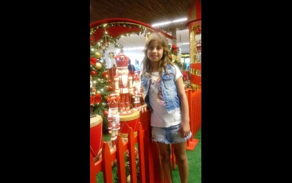 Marcelo Cantelli, de Jarinu (SP),  compartilha foto da filha, Mariana de Godoy Cantelli, oito anos