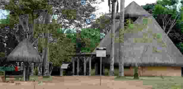 Parque memorial Zumbi dos Palmares, em Alagoas - Beto Macário/BOL - Beto Macário/BOL
