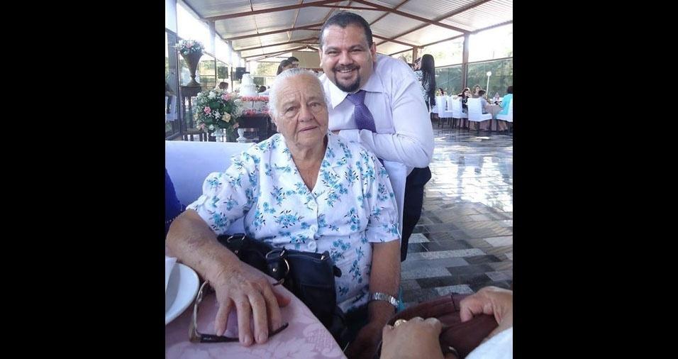 Paulo César Gomes Pereira é o filho da dona Brazilina Chagas Pereira, de Barreiras (BA)