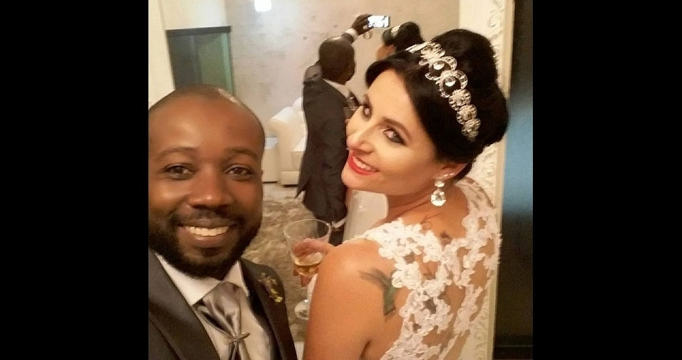 Fabiano Alves Francisco e Erika Priscila Bertazini Francisco, de São Carlos (SP), se casaram em 19 de novembro 2016