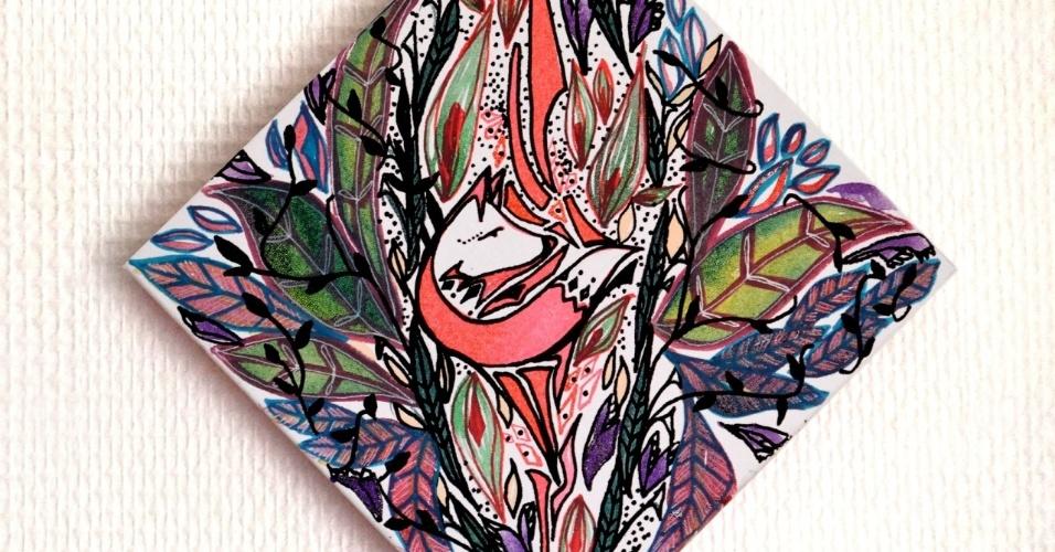 28.set.2015 - Formadas em design de moda, as artistas paulistas Mariana Degani e Verônica Alves criaram o Pupillas, um projeto que transforma sensações de mulheres em arte. Recentemente, as duas realizaram o