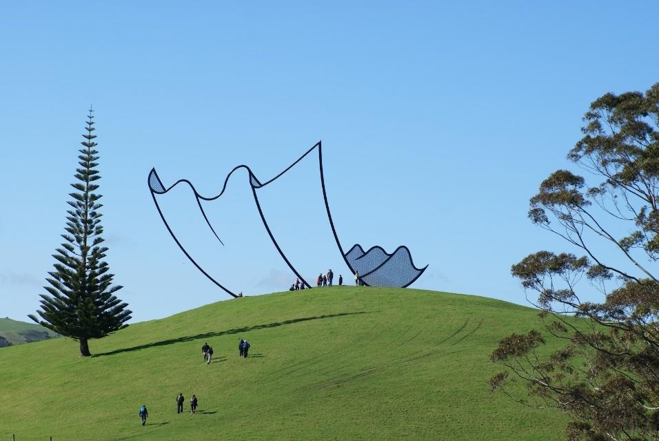 Escultura na Nova Zelândia