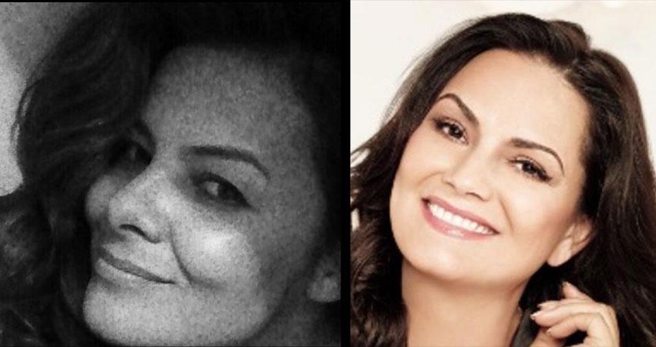 """Julia Rosa dos Santos, de Campinas (SP), conta: """"Disseram que me pareço com a Luiza Brunet"""""""