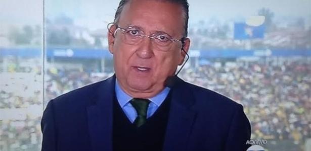Garganta do Galvão pode não aguentar até o fim da Olimpíada - Reprodução/TV Globo