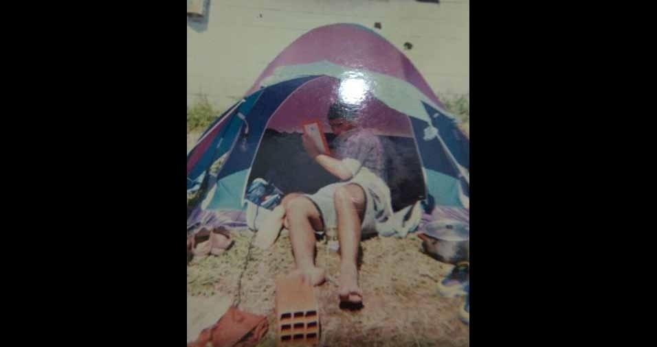 Paulo estava acampando em um clube de Atibaia em 1996