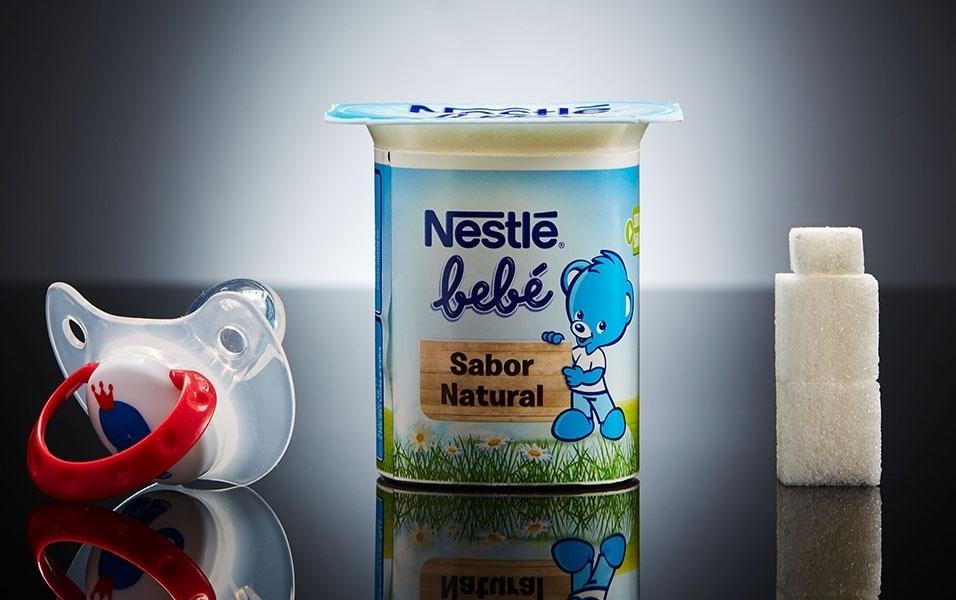 Iogurte Nestlé tem 9 g de açúcar