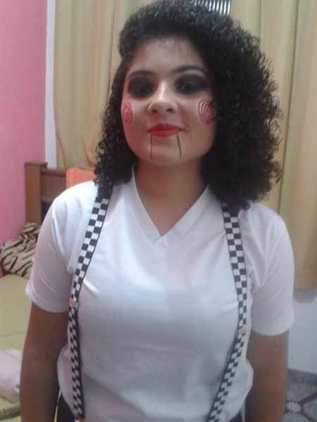 A mamãe Neuza enviou a foto da filha Thamyres, de Quatis (RJ)